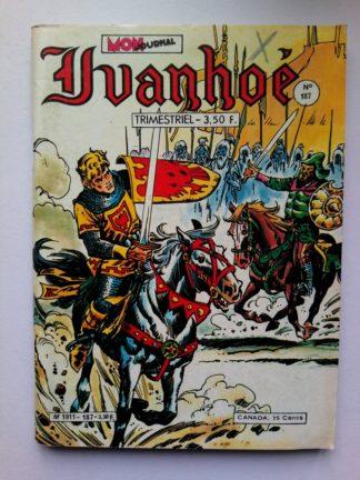 IVANHOE (Mon Journal) N°187 L'île des fous (1980)