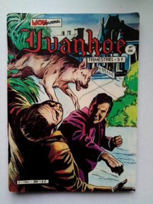 IVANHOE  N°200 Alerte sur la Manche – Mon Journal 1983