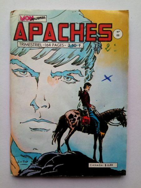 APACHES (Mon Journal) N° 69 Billy BOY - La Pony Express