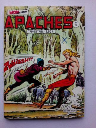 APACHES (Mon Journal) N° 74 Jimmy CROCKETT - Un mal pour un bien