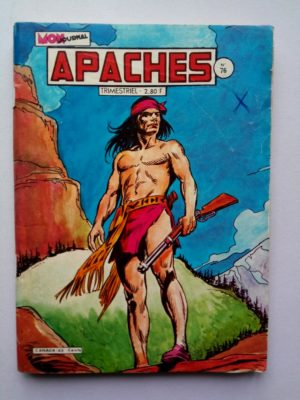 APACHES (Mon Journal) N° 76 Jimmy CROCKETT - La dernière escale