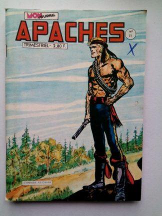 APACHES (Mon Journal) N° 77 Canada JEAN - Vers la liberté