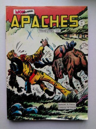 APACHES (Mon Journal) N° 79 Canada JEAN - L'expédition disparue