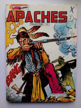 APACHES (Mon Journal) N° 80 Canada JEAN - La vallée des ombres longues