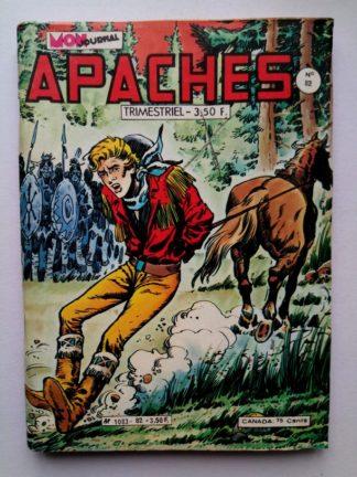 APACHES (Mon Journal) N° 82 Canada JEAN - A la barbe des indiens