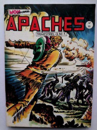 APACHES (Mon Journal) N° 83 Canada JEAN - La fille du chercheur d'or