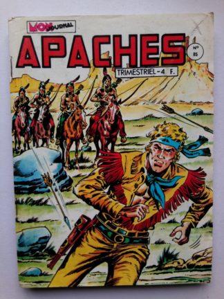 APACHES (Mon Journal) N° 85 Canada JEAN - Le cousin de France