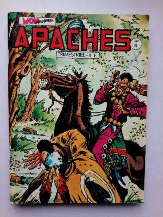 APACHES (Mon Journal) N° 86 Canada JEAN - Les trois traîtres