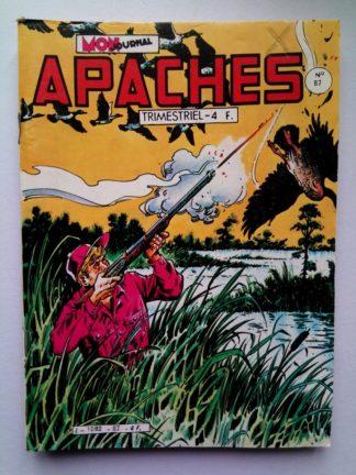 APACHES (Mon Journal) N° 87 Canada JEAN - L'homme qui venait d'Europe