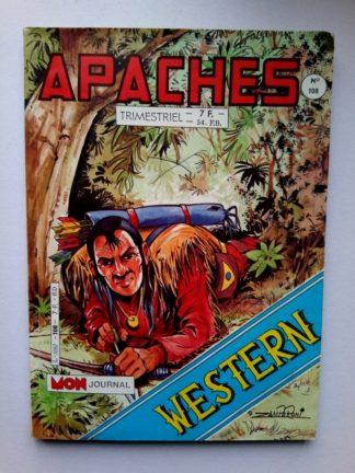 APACHES (Mon Journal) N° 108 AROK - L'esprit du bison