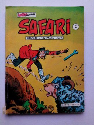 SAFARI (Mon Journal) N° 64 Katanga JOE - Panique dans la savane