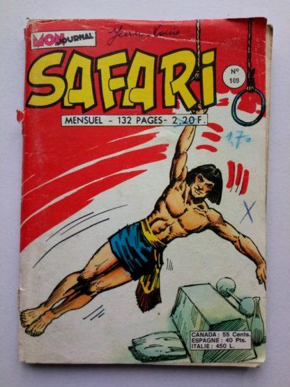 SAFARI (Mon Journal) N° 109 Katanga JOE - Attention Contagion