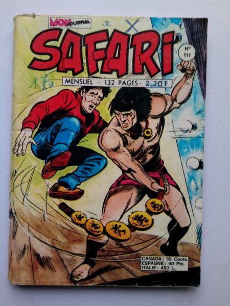 SAFARI (Mon Journal) N° 111 Katanga JOE - L'otage