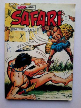 SAFARI (Mon Journal) N° 133 Katanga JOE - Bandits du désert