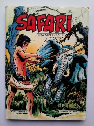 SAFARI (Mon Journal) N° 141 TIKI - Le vétéran de la forêt