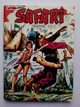 SAFARI (Mon Journal) N° 142 TIKI - Victoire sur les pirates