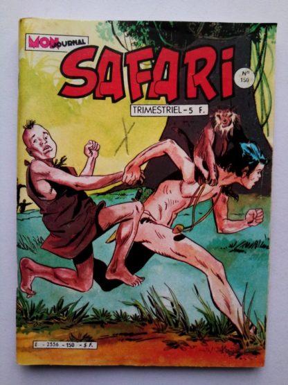 SAFARI (Mon Journal) N° 150 FLASH Spécial - Le monstre de Central Park
