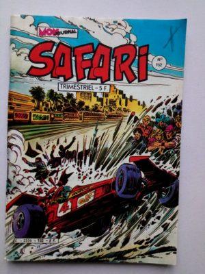 SAFARI (Mon Journal) N° 152 FLASH Spécial - Le circuit de la mort