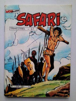SAFARI (Mon Journal) N° 159 FLASH Spécial - Celui qui voyait tout