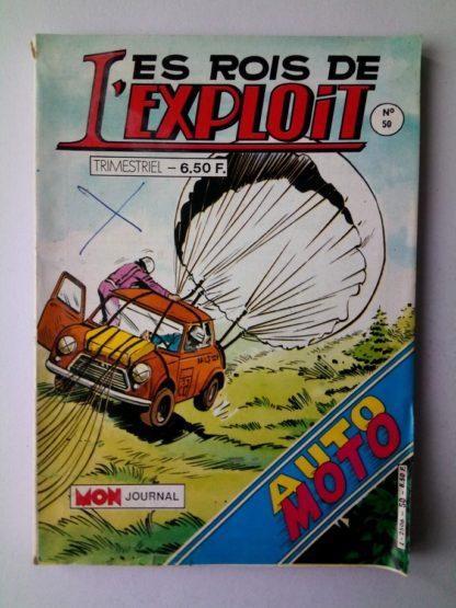 LES ROIS DE L'EXPLOIT (Mon Journal) n°50 MARTIN et sa GUDULE