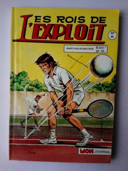 LES ROIS DE L'EXPLOIT (Mon Journal) n°64 Sur 2 roues - Le mécène