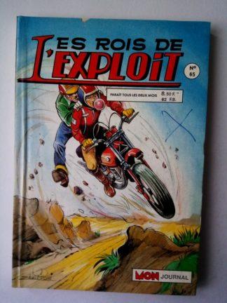 LES ROIS DE L'EXPLOIT (Mon Journal) n°65 Sur 2 roues - Pomme contre Aussie