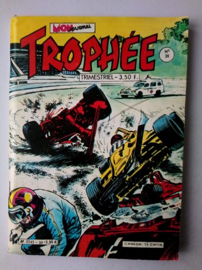 TROPHEE (Mon Journal) N° 39 ROMANO - Le signe du corbeau