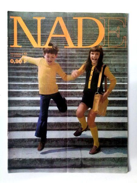 NADE N° 41(12 octobre 1969) Les jumelles - La tête de Socrate