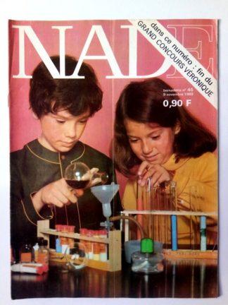 NADE N° 45 (9 novembre 1969) Les jumelles - La tête de Socrate