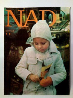 NADE N°4(1970) Les jumelles – Le porte-documents noir (Janine Lay)