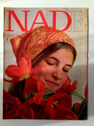 NADE N° 16(19 avril 1970) Les jumelles - Evelyne - Janine Lay
