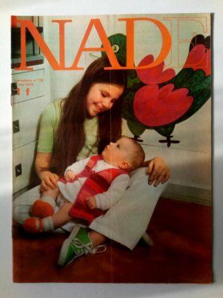 NADE N° 18 (3 mai 1970) Les jumelles - Evelyne - Janine Lay