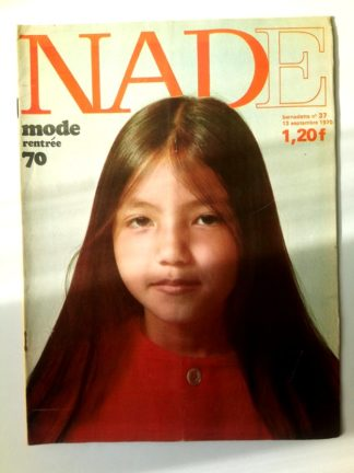 NADE N° 37(12 septembre 1970) Les jumelles - Cheval de Minuit - Janine Lay