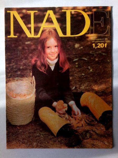 NADE N° 39(27 septembre 1970) Les jumelles - Le Cheval de Minuit - Janine Lay