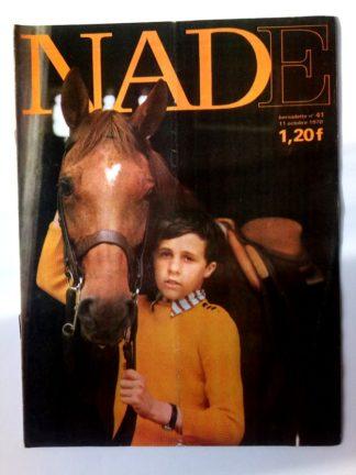 NADE N° 41(11 octobre 1970) Les jumelles - Le poussin à deux têtes - Janine Lay