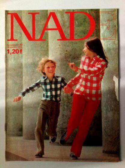 NADE N° 42(18 octobre 1970) Les jumelles - Le poussin à deux têtes - Janine Lay
