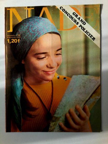 NADE N° 45(8 novembre 1970) Les jumelles - Le poussin à deux têtes - Janine Lay