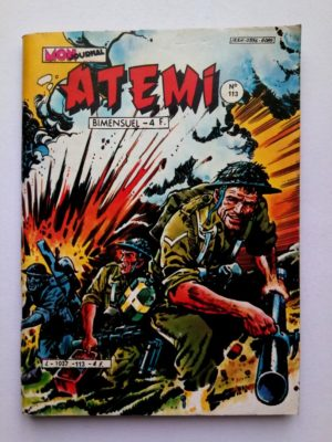 ATEMI (Mon Journal) N°113 Tsé-Khan – Un sale coup