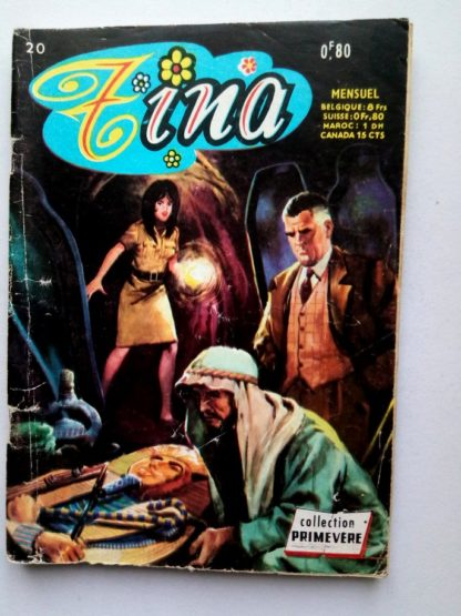 TINA N° 20 - Une mission difficile - AREDIT Collection Primevère 1969