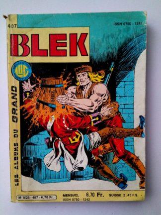BLEK N° 407 - Le médaillon - LUG 1984