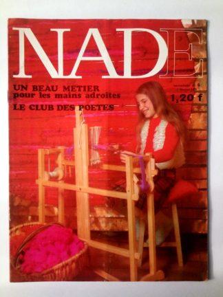 NADE N° 6(7 février 1971) Les jumelles - L'abominable élève des neiges - Janine Lay