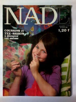 NADE N°7(1971) Les jumelles – Carnaval à Rio (Janine Lay)