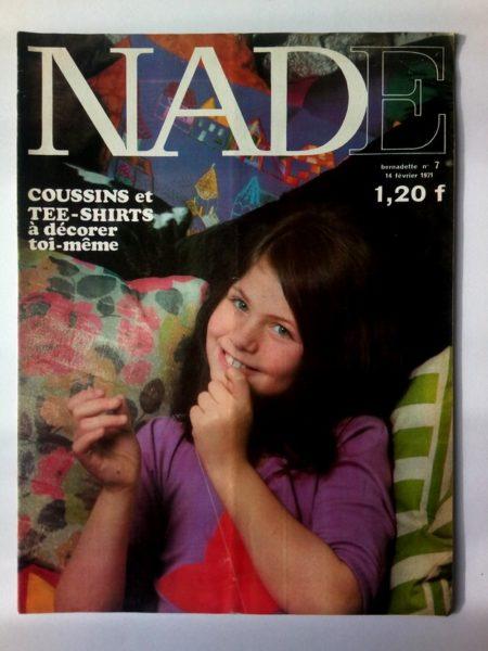NADE N° 7 (14 février 1971) Les jumelles - Carnaval à Rio (Janine Lay - Henriette Robitaillie)