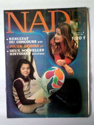 NADE N° 8(21 février 1971) Les jumelles - Carnaval à Rio (Janine Lay - Henriette Robitaillie)