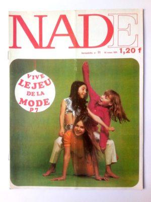 NADE N°11 (1971) Les jumelles – Carnaval à Rio (Janine Lay)