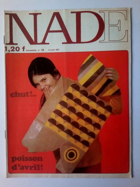 NADE N° 14 Les jumelles - La course au trésor (4 avril 1971 - Janine Lay