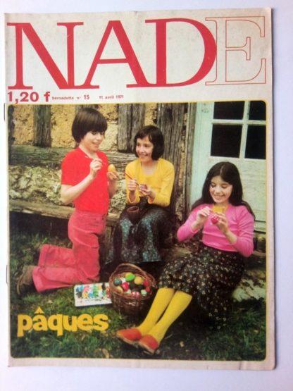 NADE N° 15 Les jumelles - La course au trésor (11 avril 1971 - Janine Lay)