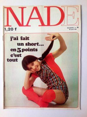 NADE N°16 (1971)Les jumelles – La course au trésor (Janine Lay)