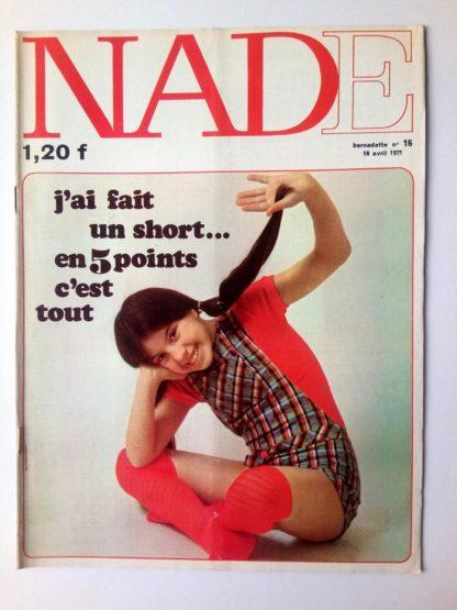 NADE N° 16 Les jumelles - La course au trésor (18 avril 1971 - Janine Lay)