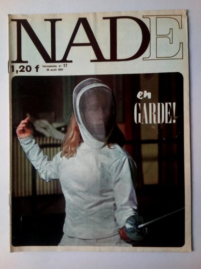 NADE N° 17 Les jumelles - La course au trésor (25 avril 1971 - Janine Lay)